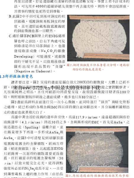 断头容易断脚难-SAC305波焊的吃铜_浸银板之焊接―失效案例解读及深入说明(pdf