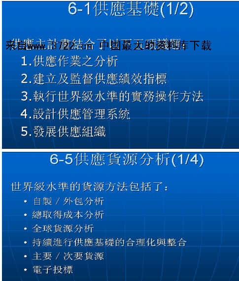 《供应商整合及关系管理(ppt 30页)来自 www.3722.