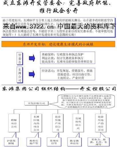 《山东省东滩集团公司组织管理体系设计咨询报告(ppt 78页)5.49mb》