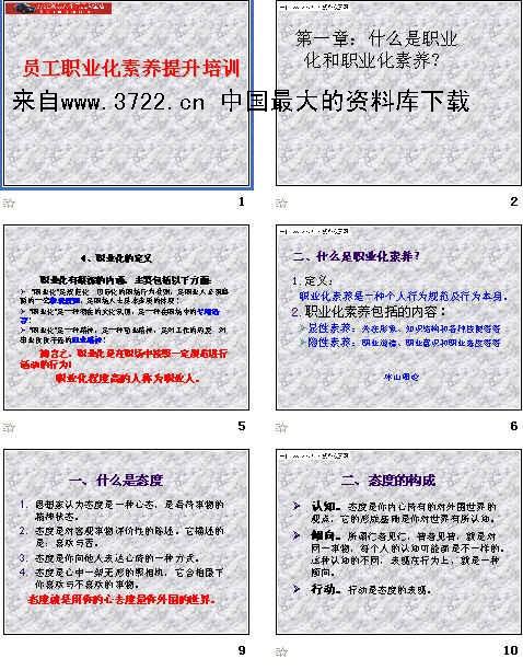 职业化素养�z+�_《员工职业化素养提升培训(ppt 157页)》