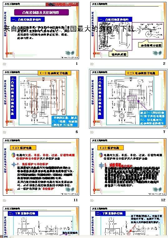 《天车工培训教程-凸轮控制器及其控制线路(ppt 35页)》