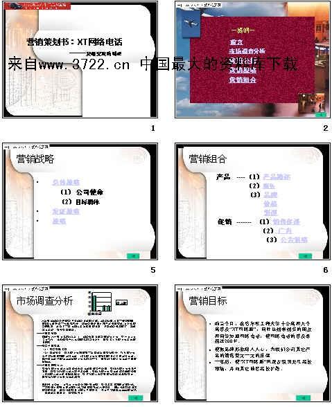 《营销策划书_xt网络电话(ppt 27页)》