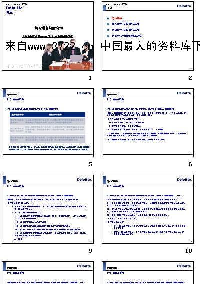 财务管理-银行税务问题介绍(PPT