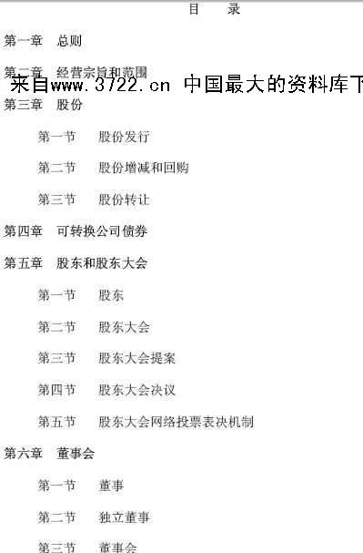 青岛海尔(家电市场)股份有限公司章程-管理制度