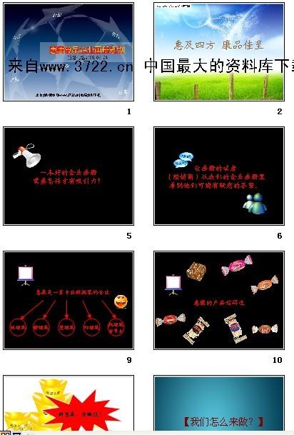 下载《惠康食品企业画册规划-企业文化
