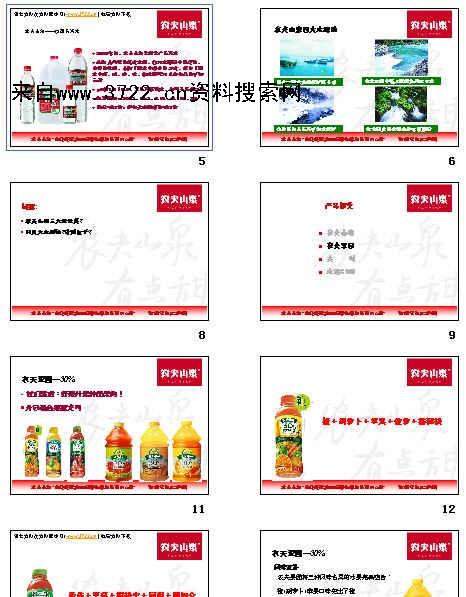 《农夫山泉产品介绍岗位任职资格标准化(ppt 39页)》图片