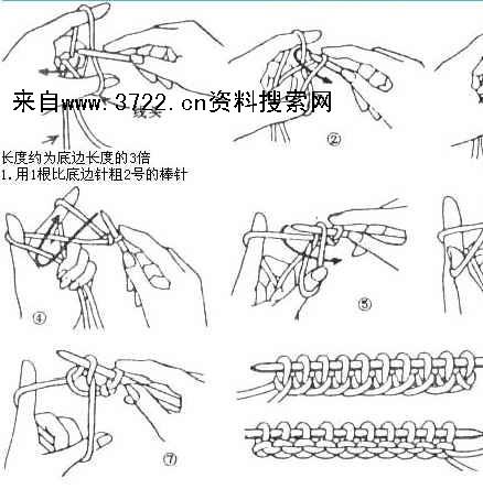 《手工针织服装针法,图案的织法(doc 59页)》