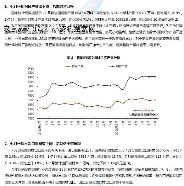 2013年兰格钢铁行业研究分析报告(PDF